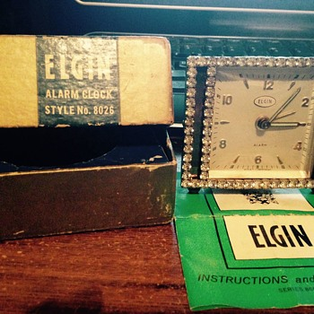 Elgin alarm clock