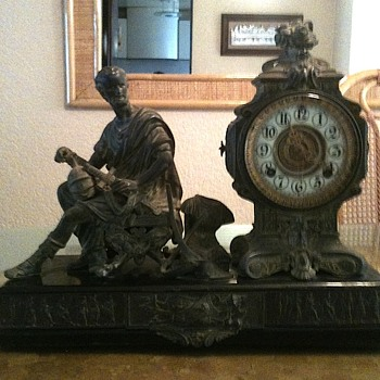 Ansonia chime clock an very rare antique.