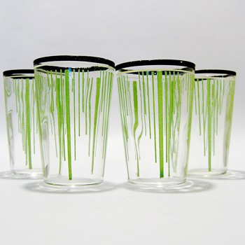 ART DECO -  JUICE CUPS - Art Deco