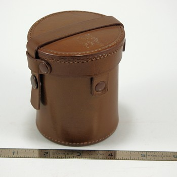 German Leather Lens Case?