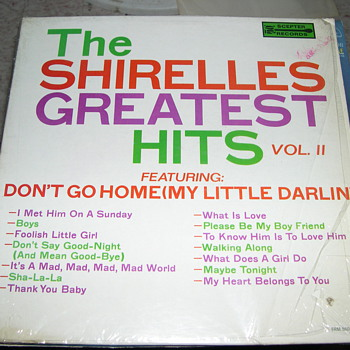 THE SHIRELLES GREATEST HITS ON SCEPTER RECORDS