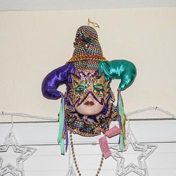 Masquerade Porcelain Mask - Visual Art