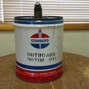 Standard Oil Can - Petroliana