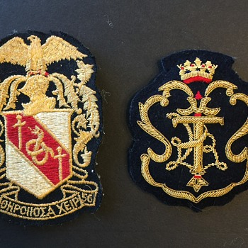 Military Unknown Patches I Believe they are.