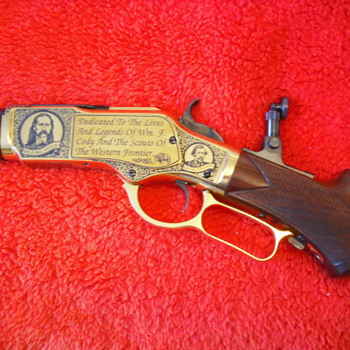 Frontier Scouts Commemorative Rifle