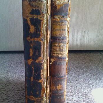 1738 & 1786 Philosophy Books