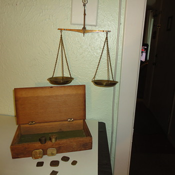 Antique Apothecary Scale - Tools and Hardware