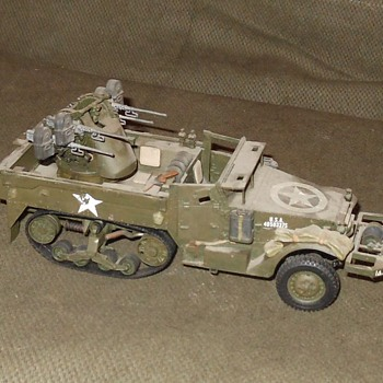 M16 Halftrack Multiple Gun Motor Carriage 1/35 Scale Model