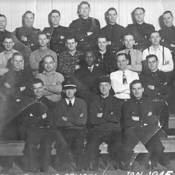 Chicago Fire Department Training School Jan. 1945 - Photographs