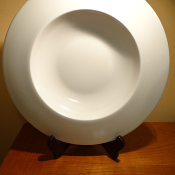 STEELITE INTERNATIONAL -ENGLAND - FLOAT WHITE  -PORCELAIN