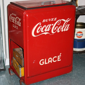 coca cola cap catcher cooler - Coca-Cola
