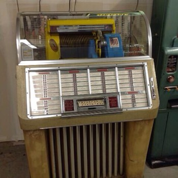 1952 Seeburg 100-C Select-O-Matic ( Original) - Coin Operated