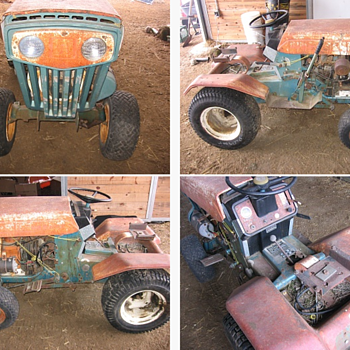 1972 Keen Kutter RIDING Lawn Tractor/Mower