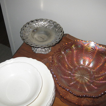 Some glass things I have - Glassware