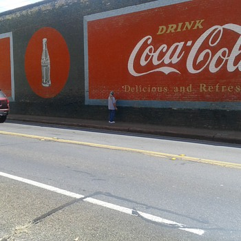 Is this the largest Coca Cola wall sign?