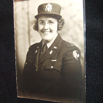 WW2 AAC female Lieutenant