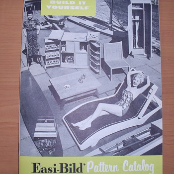 Easi-Bild Pattern catalog. - Advertising