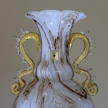 Iwata Toshi Vase 1950-1960 - Art Glass
