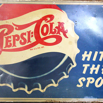 Pepsi Sign Found in a Barn ID? - Advertising