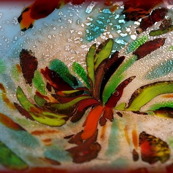 Murano Art Glass Bowl - AVEM - Art Glass