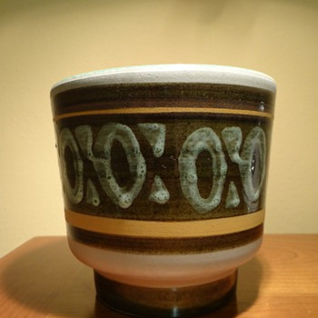 BELGIUM POTTERY / MAKER UNKNOWN - Art Pottery