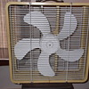 "McGraw Edison ""Eskimo"" 20 inch Metal box fan from the 1970's"