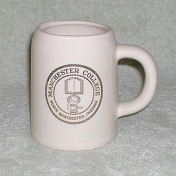 Manchester College Ceramic Mug Stein - Kitchen