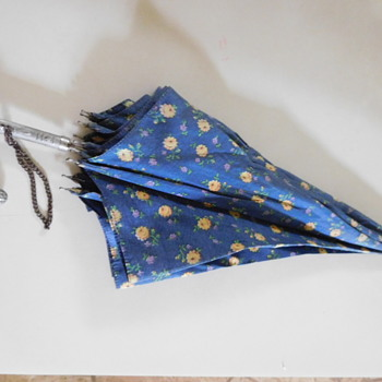 Umbrella with Elaborate Metal Handle - USA  - Accessories