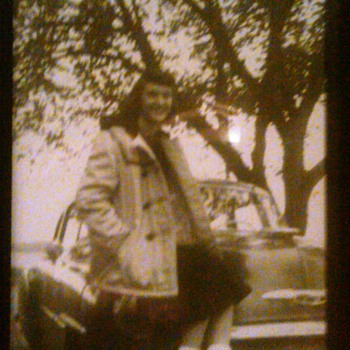 My mother many years ago.  - Photographs