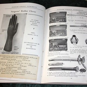 Bischoff's Surgical Supplies - 1920s Catalog