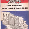 1956 Nation Convention Handbook Political Campaign Election