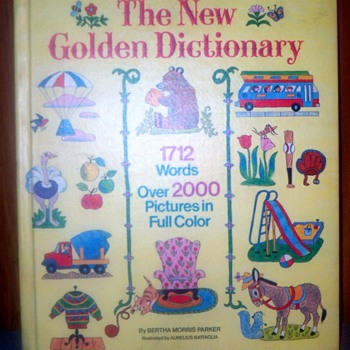 The New Golden Dictionary - Books