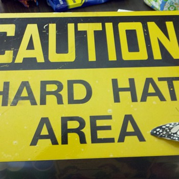 Hard Hat Area sign - Signs