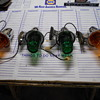 new old stock International Harvestor cab lights