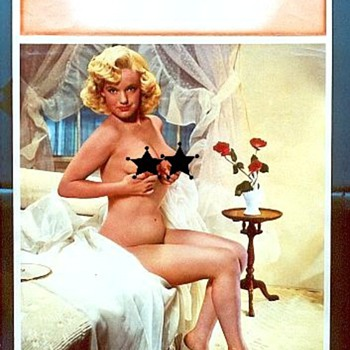 Marilyn Monroe Calendar Sales Sample Prints - Paper