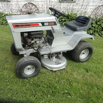 1974 Sears Craftsman LT 10 - 36 Riding Mower