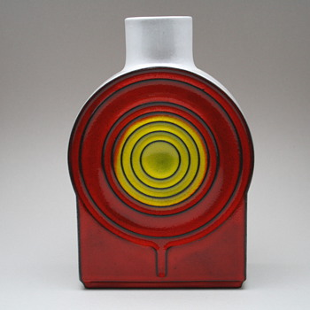 Steuler vase designed by Cari Zalloni 1970s - Art Pottery