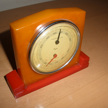 Art Deco Bakelite Thermometer
