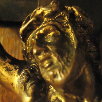 Bronze Jesus!  I just really took a close look at it!  WOW maybe beautiful!?
