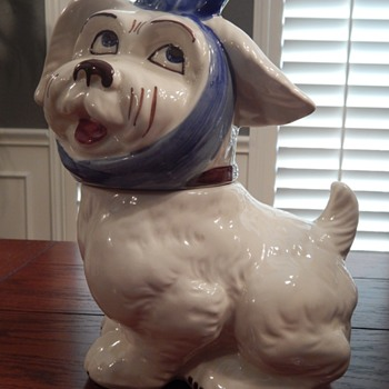 Shawnee Muggsy cookie jar