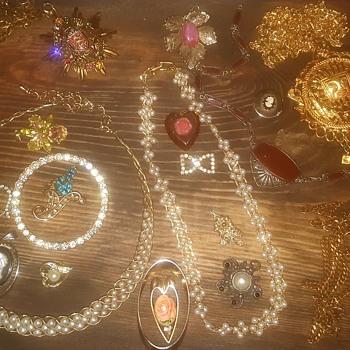 grandma's jewelry part 2..... - Costume Jewelry