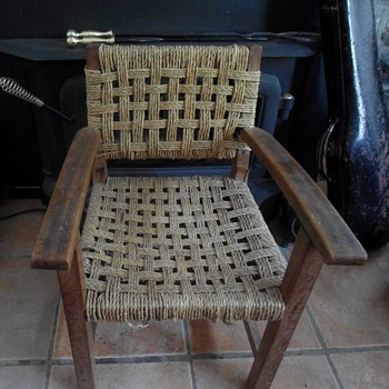Antique Child's Chair - Furniture