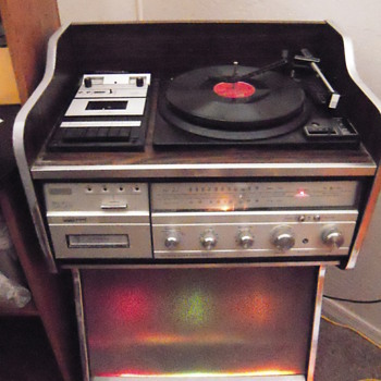 Montgomery Ward Airline Sterophonic Music Center Juke Box - Electronics