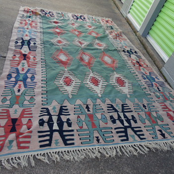 Vintage Native American Rug??? - Rugs and Textiles