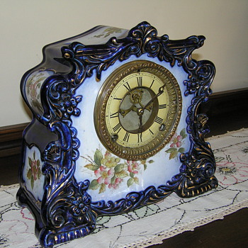 Gilbert :Porcelin Clock - Clocks