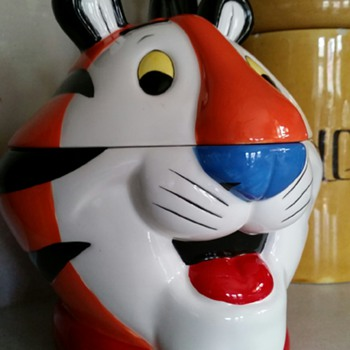 Kellogg's Tony the Tiger Cookie Jar c2002
