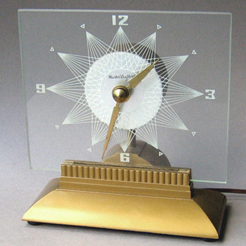 Starlight, Eternalight, Action Starlight, Mystery clocks/lamps by Mastercrafters - Clocks