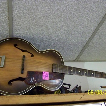 1956 Harmony Accustic Guitar