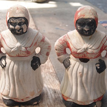 Mammy figurines - Advertising