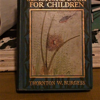 THE BURGESS SEASHORE BOOK FOR CHILDREN Hardcover 1929 1st Edition